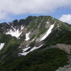 今日は山登りに行って来ました。(仙丈ヶ岳)