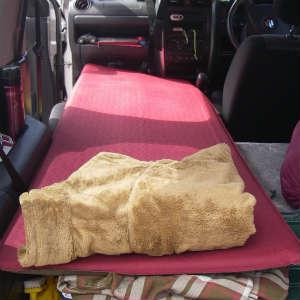 ジムニーで車中泊~お休みモードを紹介します。