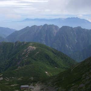 仙丈ヶ岳(松峰コース)