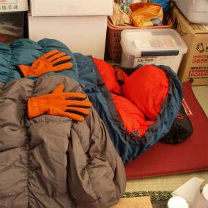 テント生活の防寒対策~寝袋編