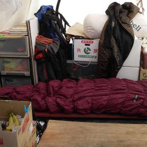 おっさんのテントは実在した!ついにその全貌が明らかに!!!