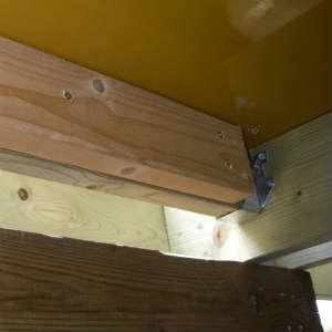 ウッドデッキの修正とパネル製作