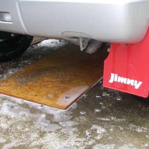 下回り洗車と車内の掃除