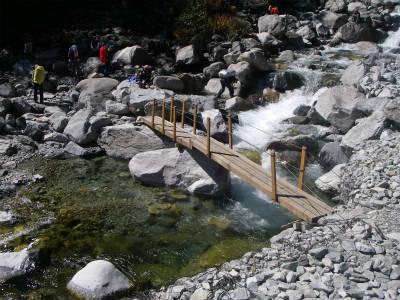 本谷橋(仮設)