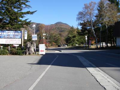 プール平バス停付近