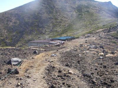 硫黄岳山荘