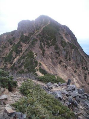 中岳付近から赤岳