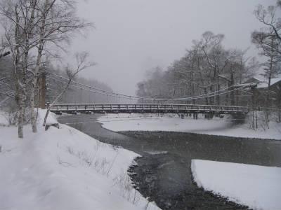 雪の河童橋