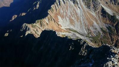 北アルプス屈指の難所として知られる大キレット