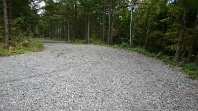 林道を広げて駐車場にしたようだ。