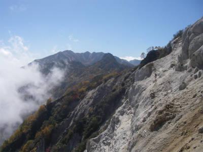 烏帽子岳が見えてきた。