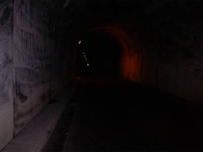 最後の長大なトンネル、山ノ神トンネル