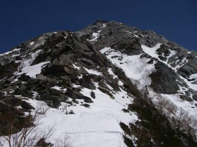 甲斐駒直登コースを下山した。