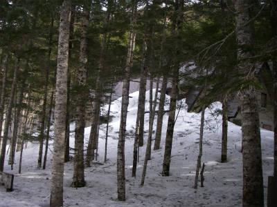 雪に埋もれる長衛荘