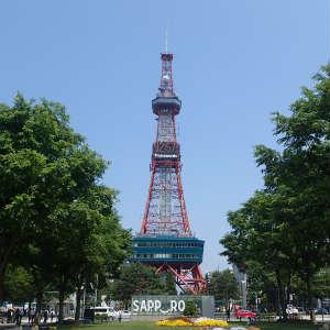 札幌市内を散策する
