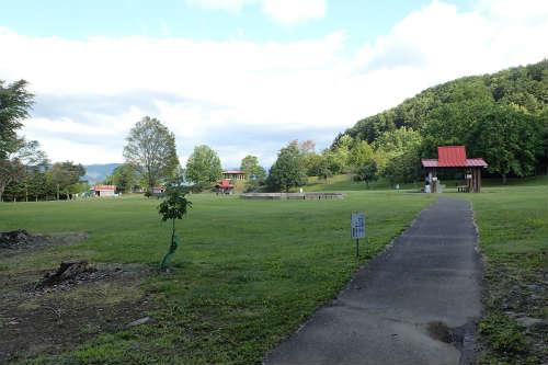 山部自然公園太陽の里キャンプ場 第二キャンプ場
