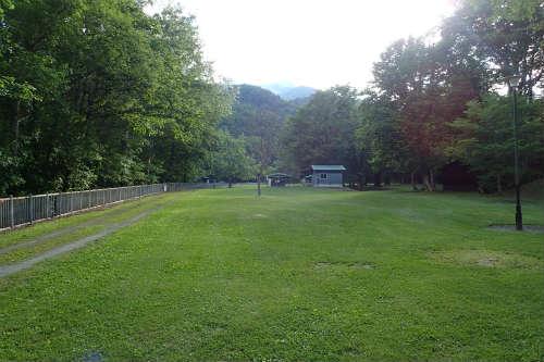 山部自然公園太陽の里キャンプ場 第一キャンプ場