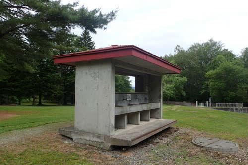 山部自然公園太陽の里キャンプ場 第一キャンプ場 水場