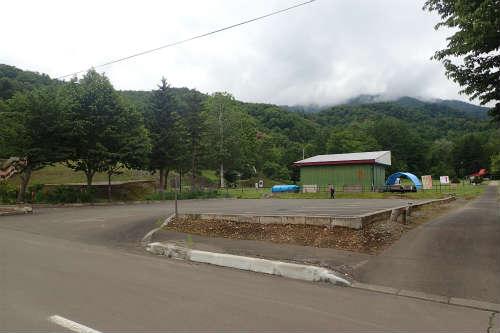山部自然公園太陽の里キャンプ場 第二キャンプ場 駐車場