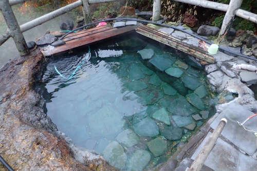 吹上温泉 吹上露天の湯 上段の湯船(小)