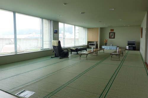 稚内ポートサービスセンター 休憩室 畳敷き