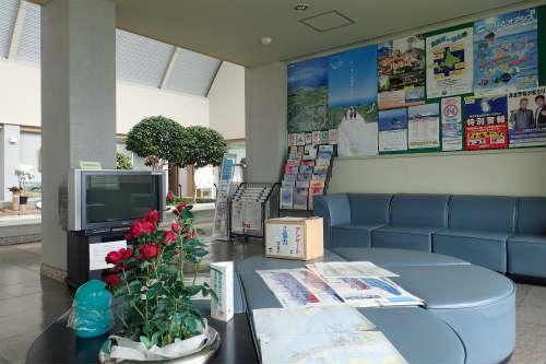 稚内ポートサービスセンター 休憩室 その2