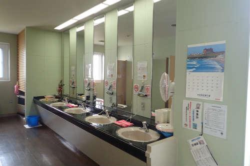 稚内ポートサービスセンター洗面所