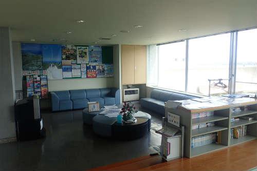 稚内ポートサービスセンター 休憩室