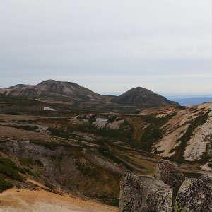 赤岳と白雲岳