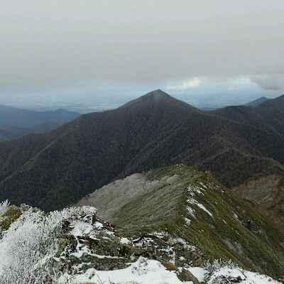 伏美岳からピパイロ岳
