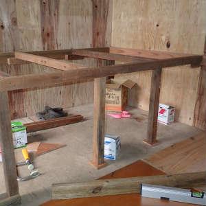 床下収納を作る