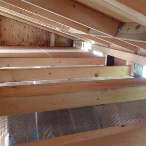 天井板取り付け完了とバイトの結果など