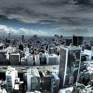 消耗する大都会、東京