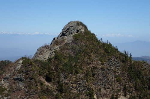 鋸岳第一高点