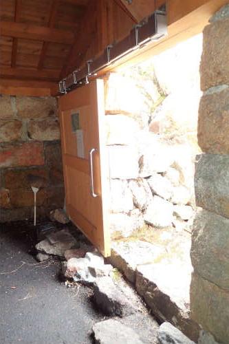 甲斐駒ヶ岳 6合目小屋 入口