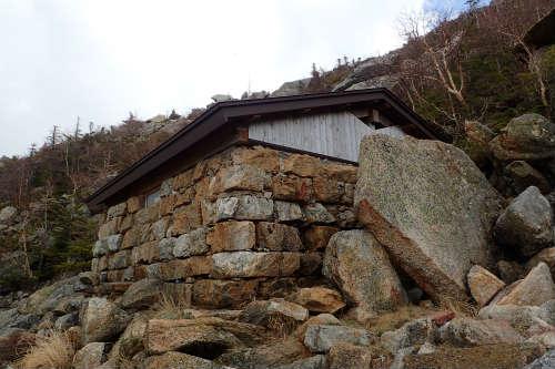 甲斐駒ヶ岳 6合目小屋