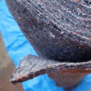Jimnyの内張り(天井、サイド)を剥がして断熱材を貼る