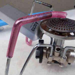 レギュレーターストーブ ST-310 のカスタマイズ