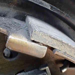 Jimnyの消耗品購入とリヤブレーキの点検など