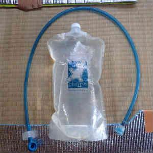 折りたたみ式水筒のプラティパスとハイドレーションシステム