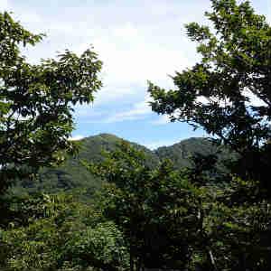 大潟村から白神山地まで 二ツ森に登る