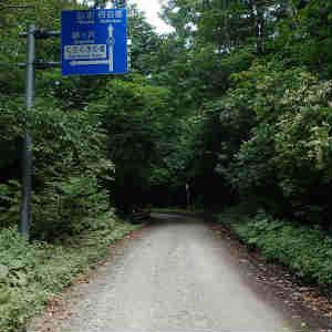 白神ライン(県道28号 岩崎西目屋弘前線)を走る