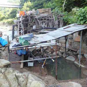 弘前市内から下湯ダム