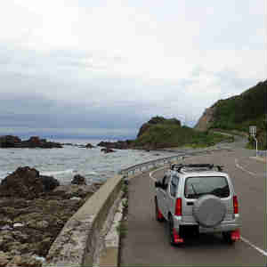 仏ヶ浦から本州最北端の大間崎へ