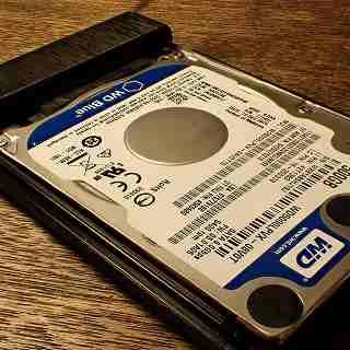 不要になった内蔵HDDを外付けHDDにして再利用する